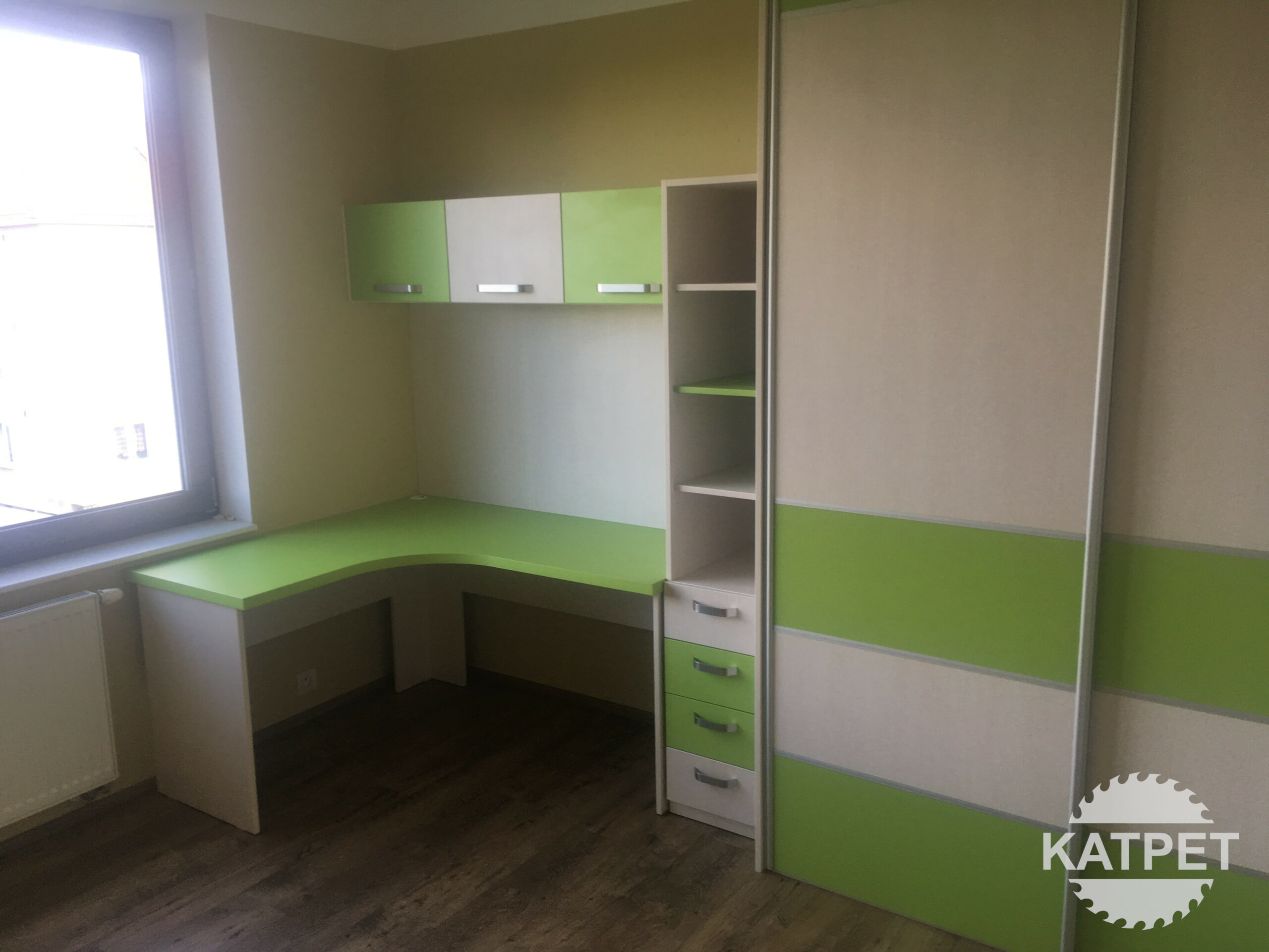 Zelený dětský pokoj