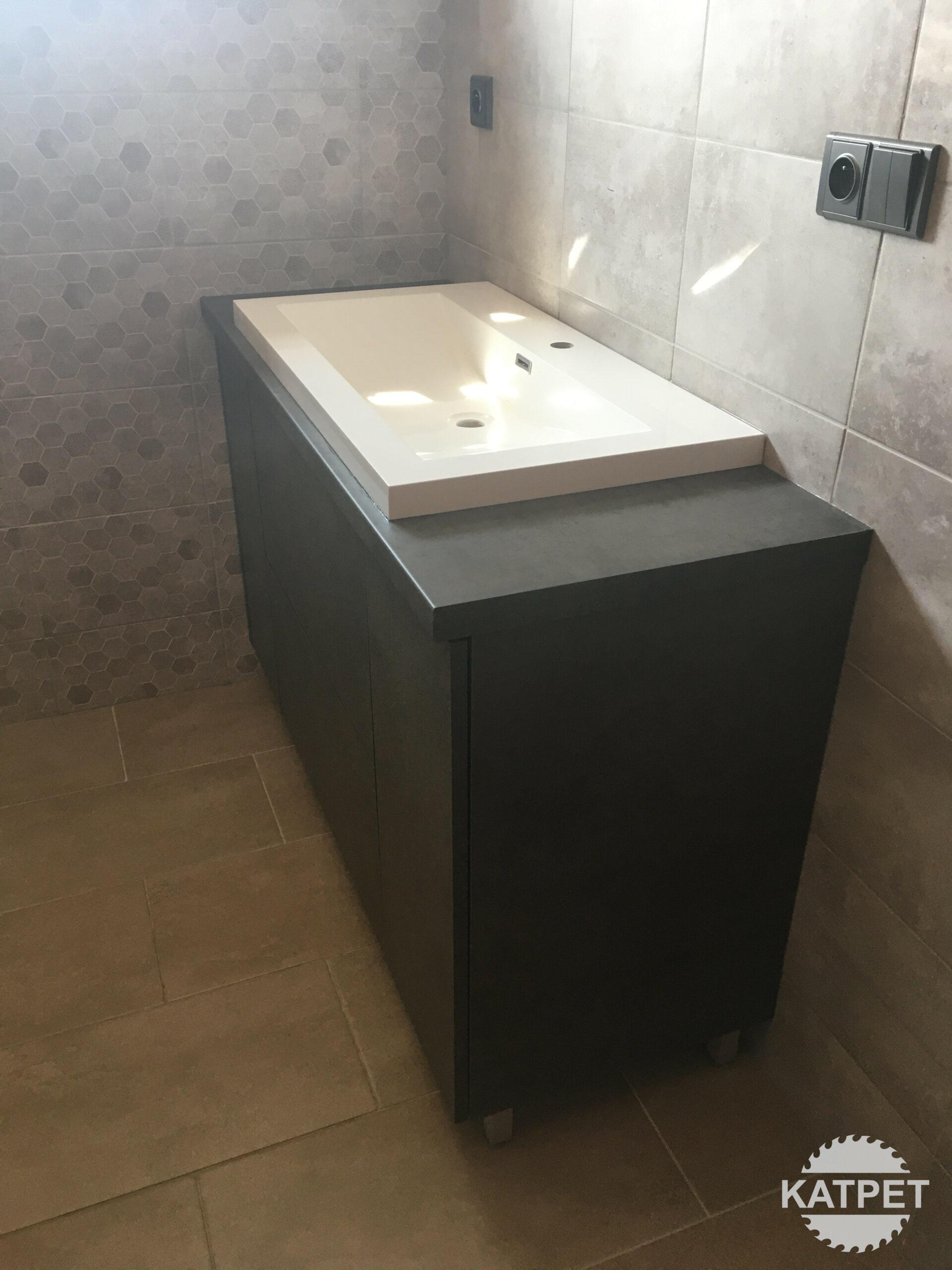 Koupelnová komoda na míru