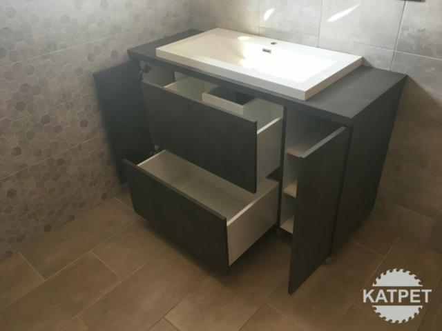 Koupelnová komoda široká