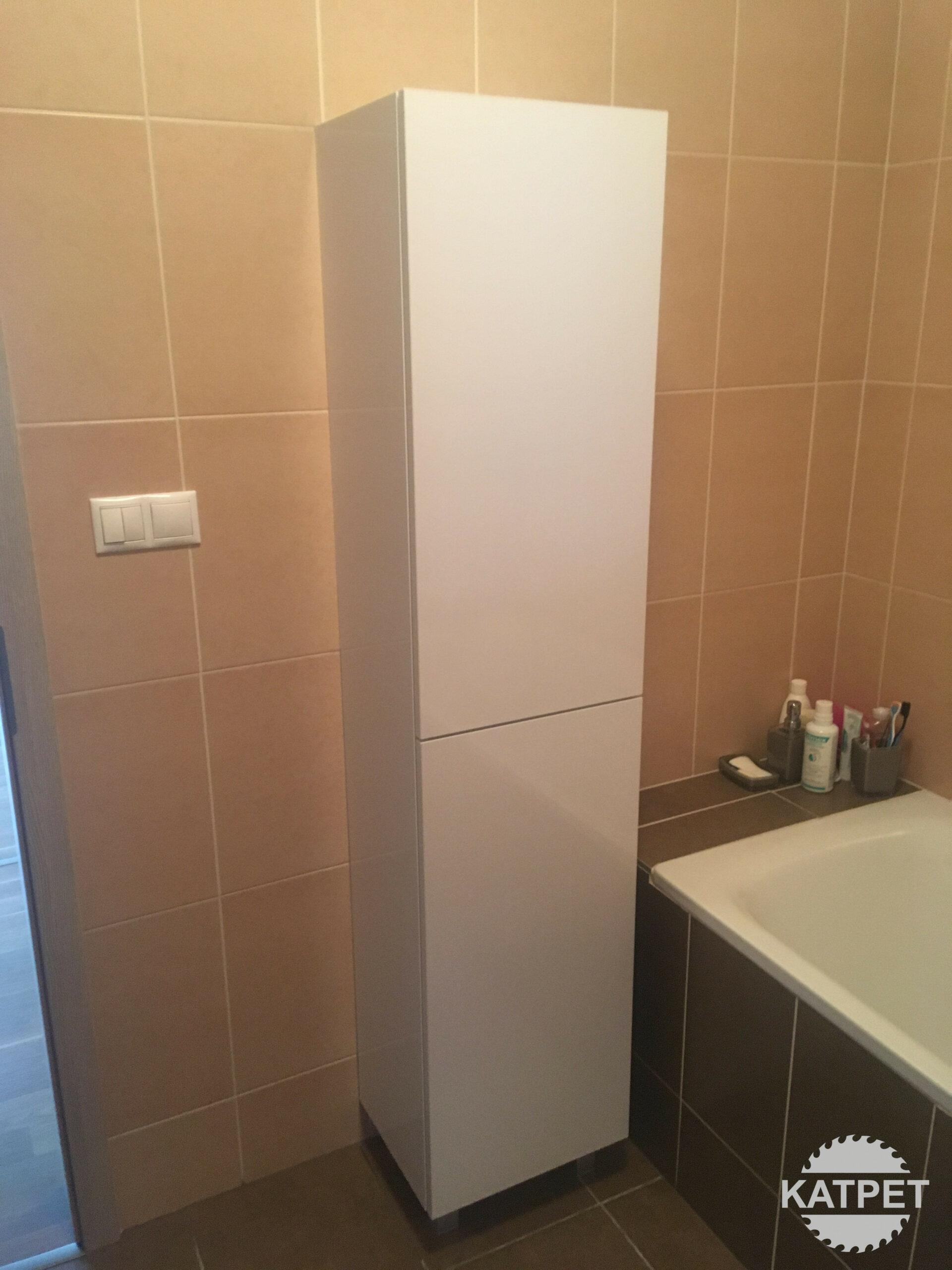 Skříň do koupelny - vysoká