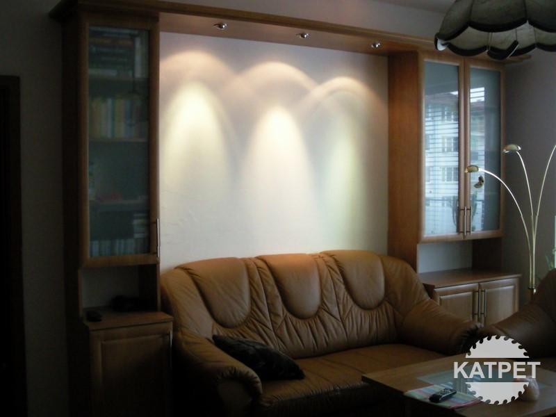 Skříně s LED světlem