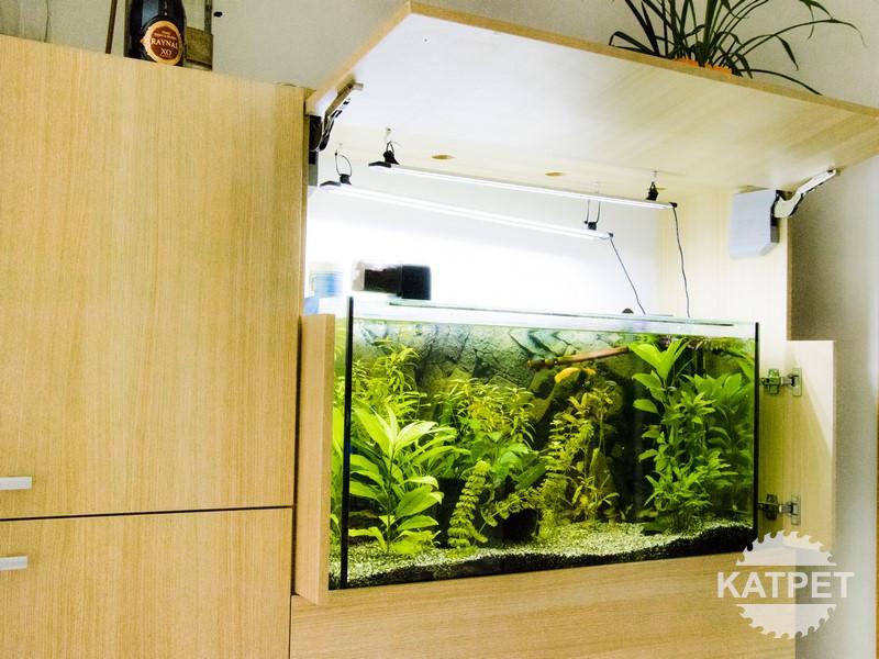 Řešení skříně pro akvárium