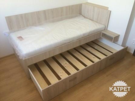 Rozkládací postel na míru